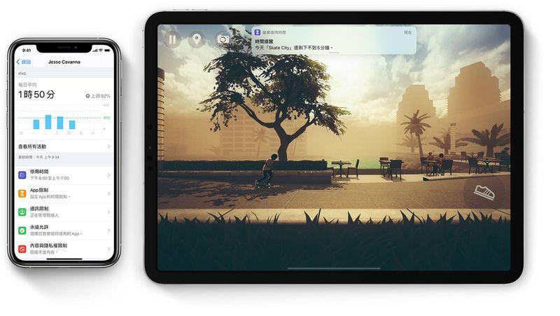 ios14-ipad-pro-iphone11-pro-screentime-hero