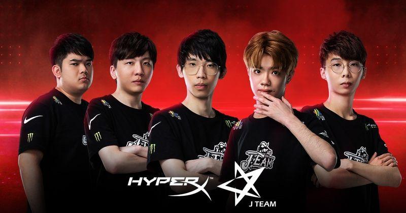 HyperX今日宣布與《英雄聯盟》職業電競戰隊勁旅J Team正式簽約合作