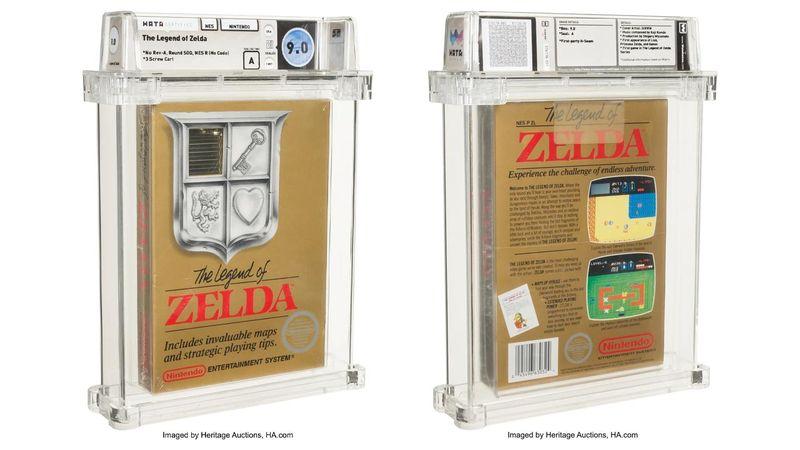 Zelda NES Cartridge