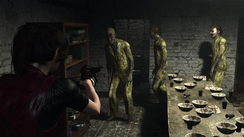 Resident Evil: Code Veronica gameplay