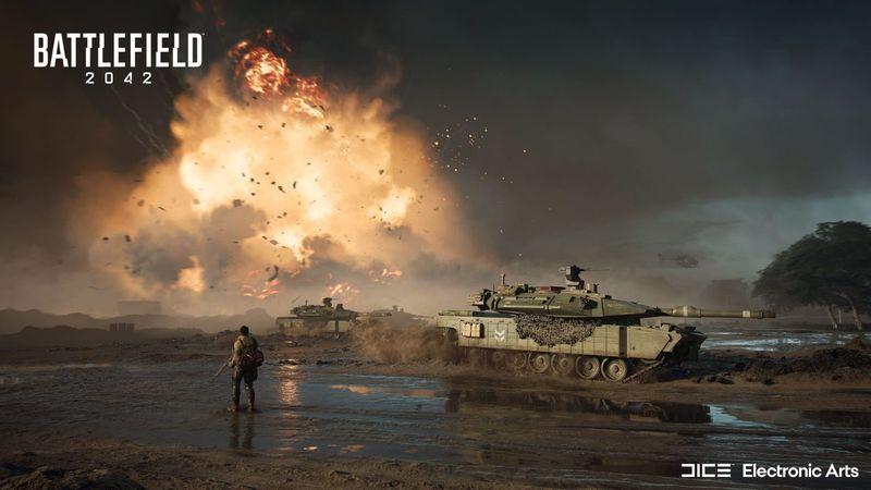Battlefield 2045 Tank